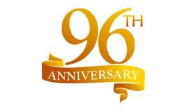 96 Year Ribbon Anniversary Stock Image