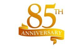85 Year Ribbon Anniversary Royalty Free Stock Photos