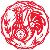 Year of the Rooster illustration Stock Photo