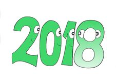 THIS YEAR`S ICON. stock photo