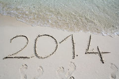 The year 2014 Stock Photo