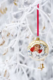 Year of the Sheep 2015 bauble Royalty Free Stock Image