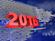2016 year sign Stock Photo