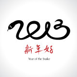 Year of the Snake 2013 Stock Image