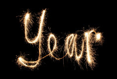 Year sparkler
