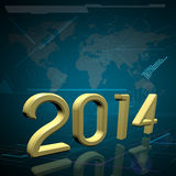 The Year 2014 Stock Images
