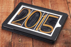 2015 year typography Royalty Free Stock Image