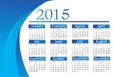 2015 year vector calendar. 2015 year vector illustration calendar vector illustration
