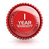 1 Year Warranty Stock Image