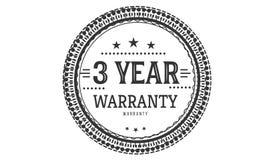 3 year warranty design classic,best black stamp. 3 year warranty design,best black stamp illustration vector illustration