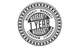 1 year warranty design classic,best black stamp. 1 year warranty design,best black stamp illustration royalty free illustration