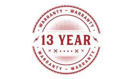 13 year warranty design classic,best black stamp. 13 year warranty design,best black stamp illustration vector illustration
