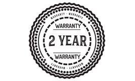 2 year warranty design classic,best black stamp. 2 year warranty design,best black stamp illustration stock illustration