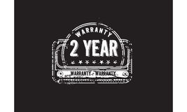 2 year warranty Royalty Free Stock Photography