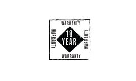 10year warranty Royalty Free Stock Images