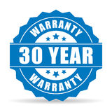 30 year warranty icon Royalty Free Stock Images