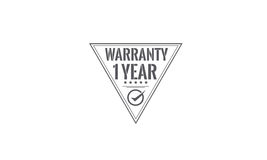1 year  warranty icon Stock Photo