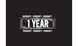 1 year warranty icon Royalty Free Stock Photo