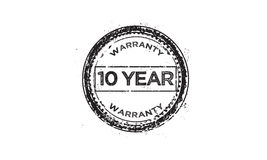 10 year warranty icon Royalty Free Stock Photography