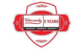 2 year warranty illustration design stamp badge icon. 2 year warranty illustration design stamp badge illustration icon royalty free illustration