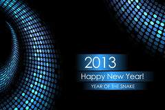 Year of the water snake Stock Images
