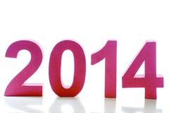 Year 2014 Stock Photo