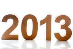 Year 2013 Royalty Free Stock Image