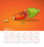 Year of the white rabbit. Sliced carrots. Juicy carrots with green tops, cutting slices Stock Photography