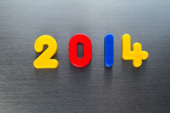 The year 2014 Royalty Free Stock Photos