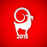 Year 2015 year of Goat zodiac Stock Photos