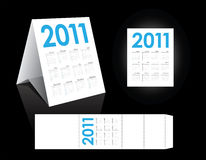 Yearly calendar Royalty Free Stock Photography