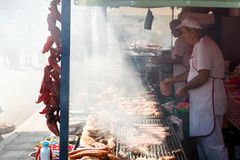 The yearly Leskovac Grill festival Stock Photography