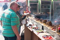 The yearly Leskovac Grill festival Royalty Free Stock Photo