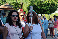 Yearly pilgrimage 11 Stock Photography