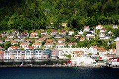 Stavanger, Norway, sea View. royalty free stock photography