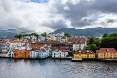 Stavanger, Norway, sea View. stock photography
