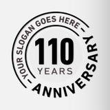 110 Years Anniversary Celebration Design Template. Anniversary vector and illustration. 110 years logo. 110 years anniversary celebration design template. 110 vector illustration