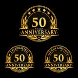 50 years anniversary design template. Anniversary vector and illustration. 50th logo. vector illustration