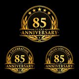 85 years anniversary design template. Anniversary vector and illustration. 85th logo. 85 years anniversary design template. 85 years celebrating vector and stock illustration