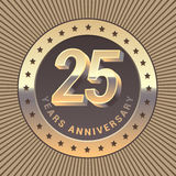 25 years anniversary  icon, logo Stock Photo