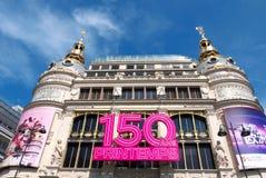 150 Years Au Printemps Stock Photo