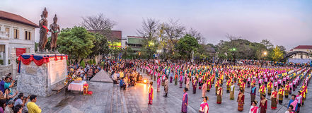 720 years Chiang Mai. Royalty Free Stock Images