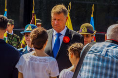 100 years after the First World War in europe ,commemoration in europe, romanian heroes Stock Photography