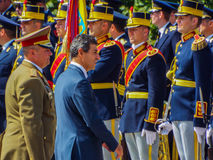 100 years after the First World War in europe ,commemoration in europe, romanian heroes Stock Images