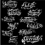 Years lettering vector Royalty Free Stock Photography