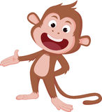 The years of the monkey. Stock Photography