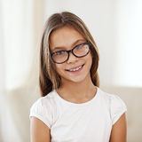 8 years old girl Stock Photos