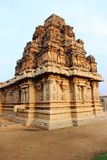 Ajaramappa temple. 400 years old temple carved on sand stone. located in Hampi of karnataka state of south india Stock Photography