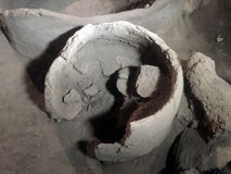 6000 years old winery Stock Image