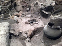 6000 years old winery Stock Photography